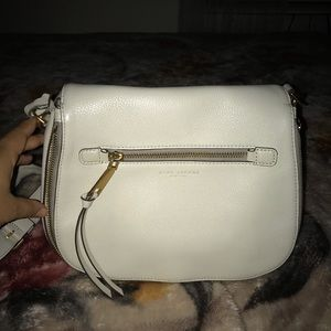 Marc Jacobs Mink Leather Large Crossbody